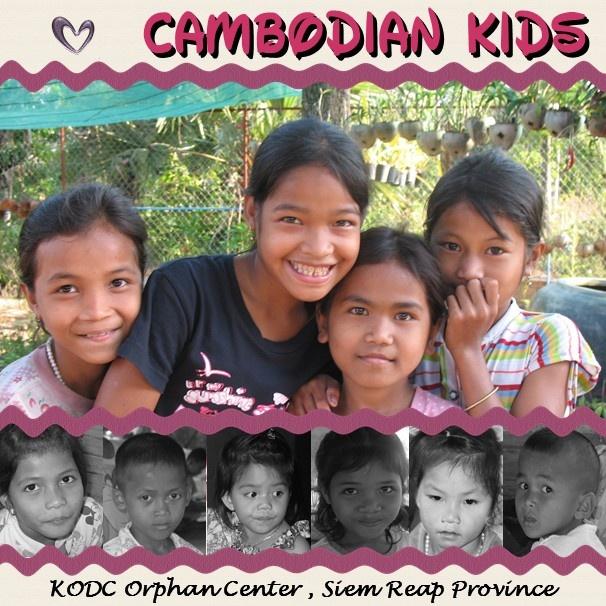 Our Cambodian Kids - Scrapbook.com