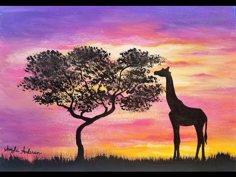 17 Best ideas about Giraffe Silhouette on Pinterest ...