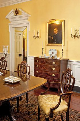 USA   The portrait is of Frederick Perry Dutton and dated It hangs  above a Federal chest of drawers attributed to New Brunswick  New Jersey   furniture  26 best Dining Room images on Pinterest   Dining room  French  . Dining Room Chairs In New Jersey. Home Design Ideas