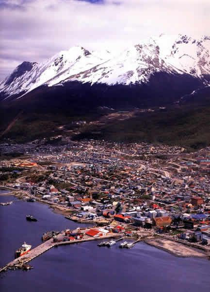 ushuaia, argentina - el fin del mundo, the southernmost city in the world