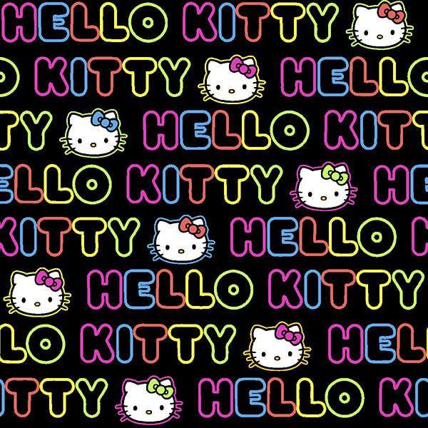 Hello Kitty -kangas, 2 jaardia, 5,5€/jaardi