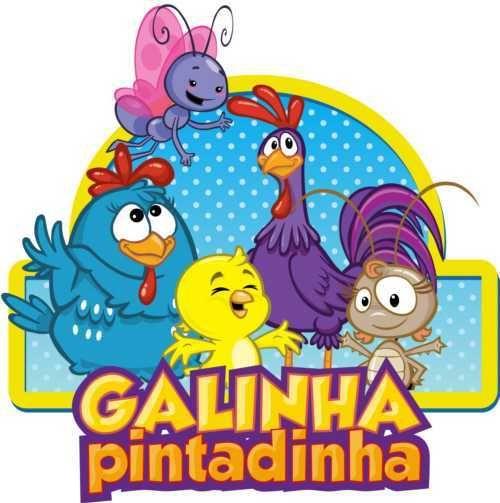 Foto da Galinha Pintadinha.
