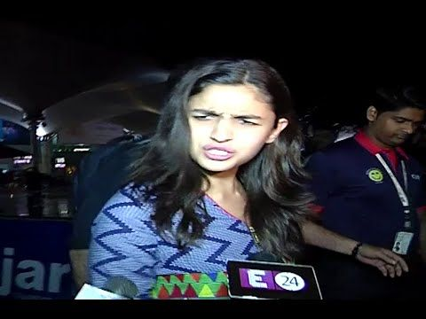 Alia Bhatt DISAGREE with the question ask by the media regarding Katrina Kaif.