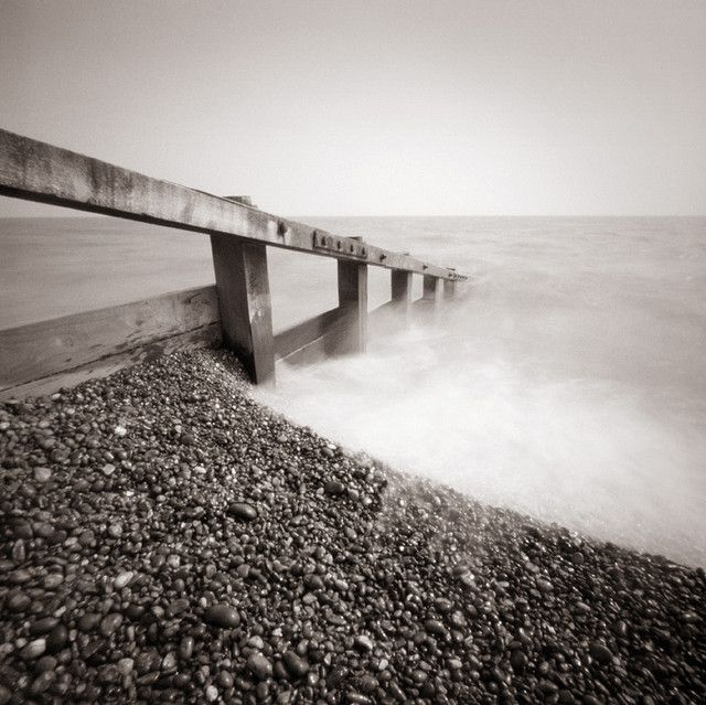 Slaughden Quay, Aldeburgh, Suffolk. Zero 2000 pinhole camera using PanF, processed in Ilford DDX, scanned on a Nikon Coolscan 9000 #ilfordpanf #ilfordfilm #sheetfilm #largeformat #shootfilm #analoguephotography