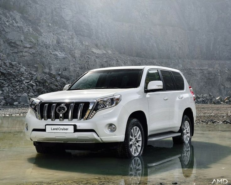 The 2014 #Toyota Land cruiser with its V-8 engine is a true off roader that combines rugged adventure with #luxury SUV class.