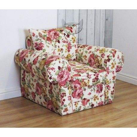 Fotel w róże - Rosaly
