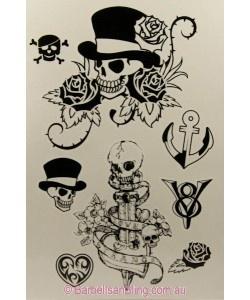 Temporary Tattoos 8 x 12 - T047
