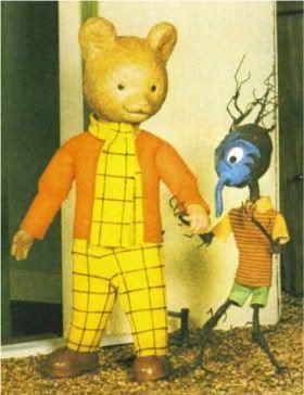 Rupert the bear 1970's puppet animation