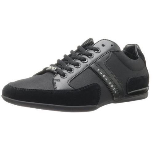 Spacit  Leather and Suede Sneakers by BOSS Green NEW MEN Men s Shoes HOGO BOSS
