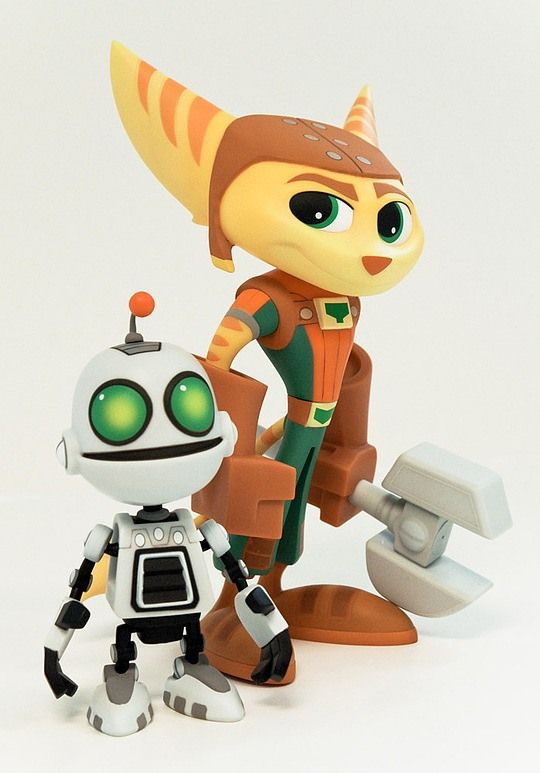 Cool Illustrations by Dave Guertin & Greg Baldwin Love Ratchet and Clank.