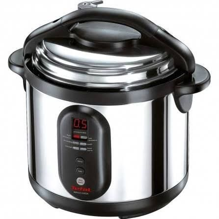 Tefal 6L Electric Pressure Cooker (STAINLESS Steel) CY4000