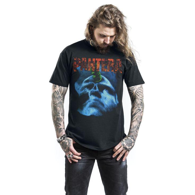 "Classica T-Shirt uomo nera ""Far Beyond Driven Tour"" dei #Pantera."