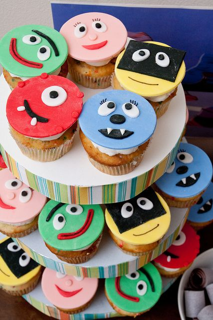 Better Gabba cupcakes