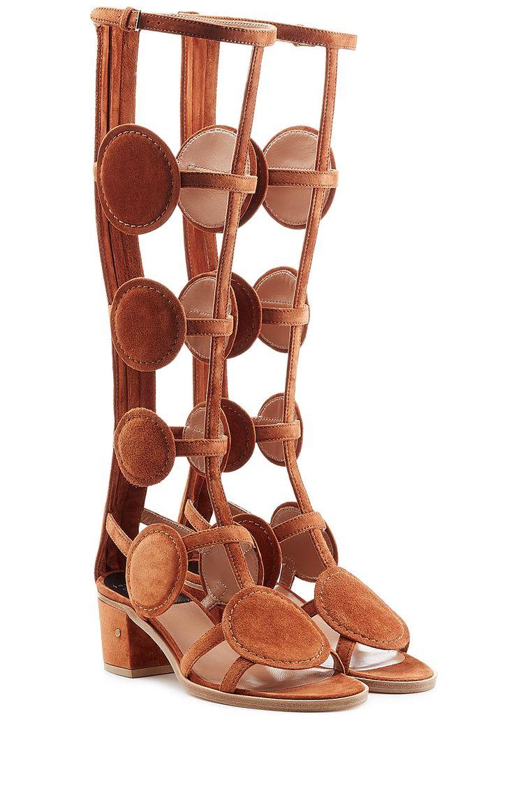 Sandales spartiates en daim Halix detail 0 | ≼❃≽ @kimludcom
