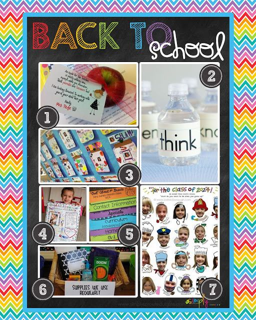 114 Best Back To School Night, Meet The Teacher, Open House Ideas Images On  Pinterest | Creative, School And September