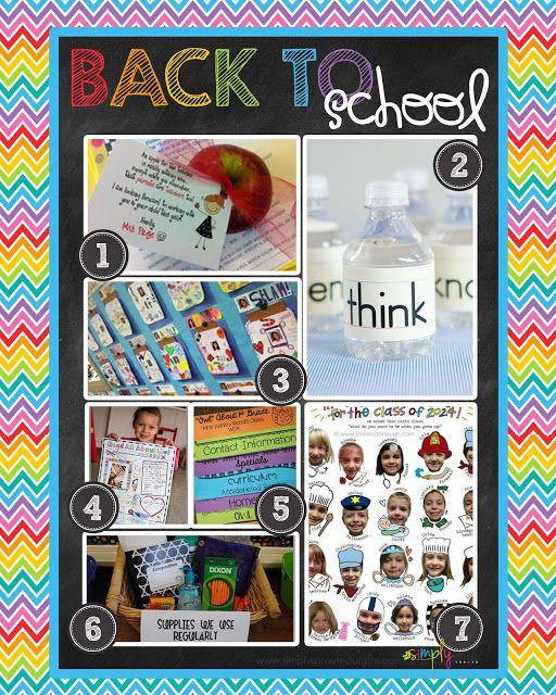 112 Best Back To School Night Meet The Teacher Open House Ideas
