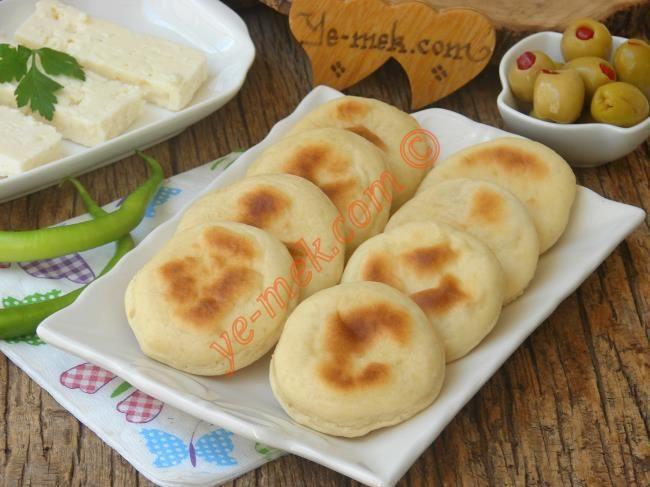 Kahvaltılık Mini Bazlama Resimli Tarifi - Yemek Tarifleri
