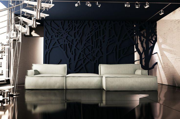 Kolekcja Le Noir - Adriana Furniture. Dostępna w sklepie internetowym: http://www.adriana.com.pl/Kolekcja/Sofy