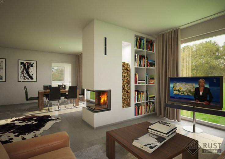 Wohnzimmer Mit Kamin Modern Erstaunliche Hause Design Ideen - luxus wohnzimmer modern mit kamin