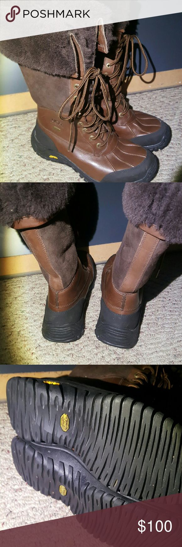 Authentic UGG snow boots Excellent condition UGG boots. UGG Shoes Winter & Rain Boots