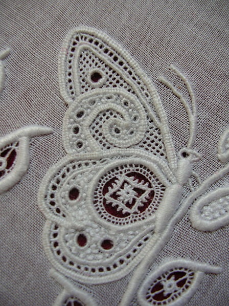 Gorgeous whitework