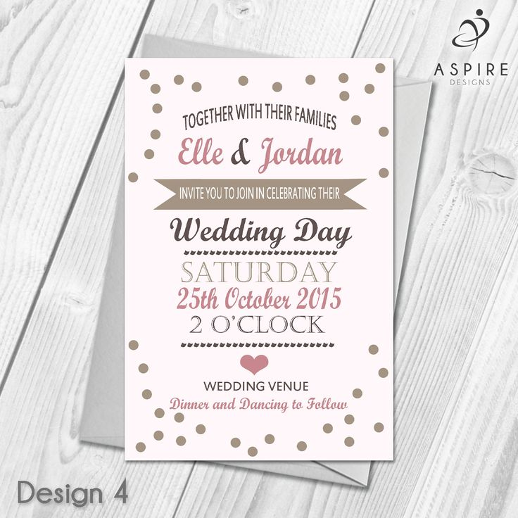 96 best Personalised Wedding Day and Evening Invitations & Thank You ...