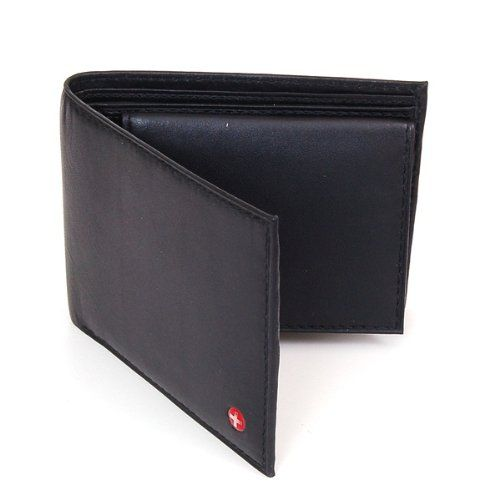 Alpine Swiss Men's Leather Bifold Wallet with Flip Up ID Window - Removable - Black Comes in a Gift Bag: http://www.amazon.com/Alpine-Swiss-Leather-Bifold-Wallet/dp/B004M6XUI2/?tag=monmak04-20: Gifts Bags, Window, Men'S Leather, Swiss Men, Leather Wallets, Leather Bifold, Bifold Wallets, Alpin Swiss, Men Leather