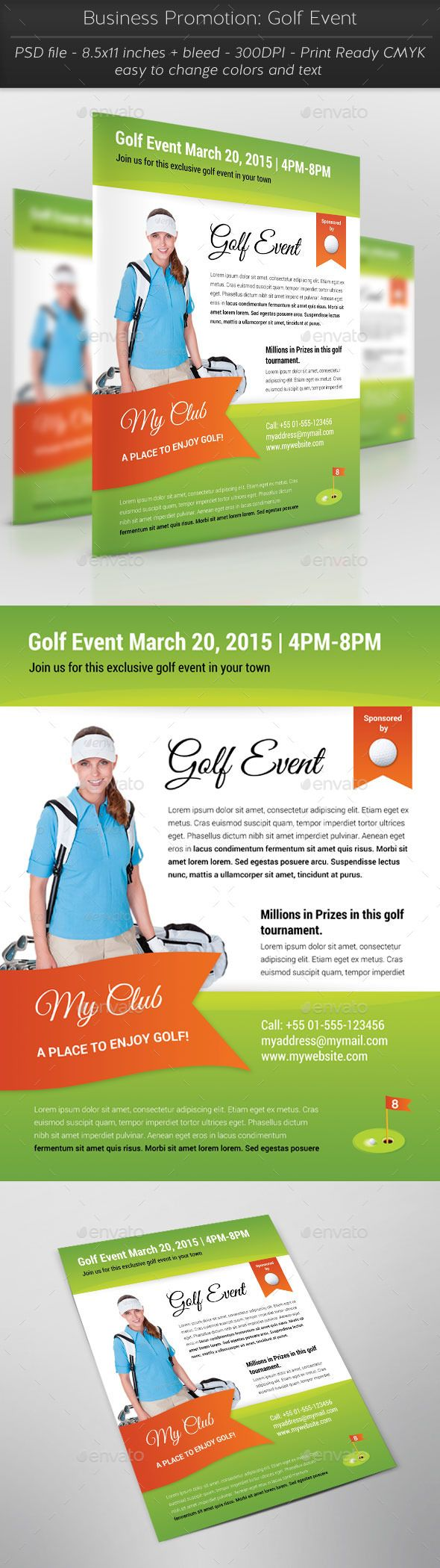 Business Promotion: Golf Event