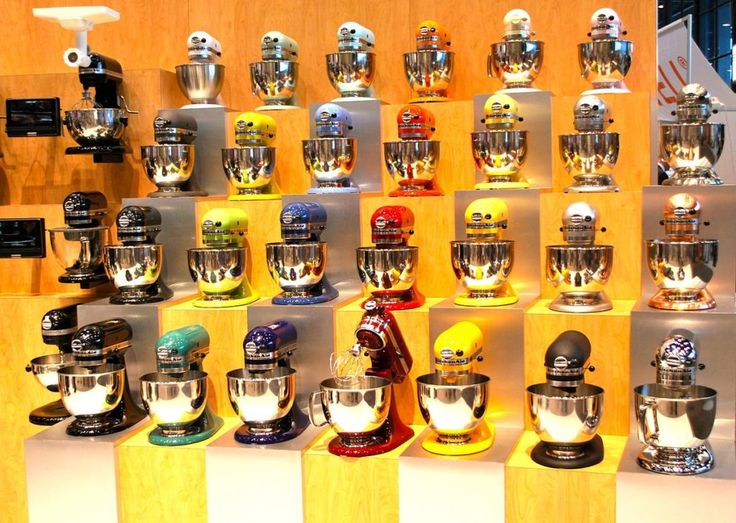 All Kitchenaid Colors 16 Best Kitchenaid Mixers Display Images On Pinterest  Stand