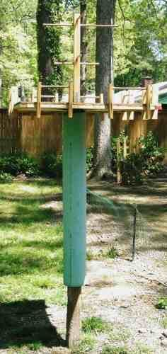 Here are easy to build platform bird feeder plans that will attract a wide variety of birds and is easy to keep clean. Mesh bottom to keep seeds dry.
