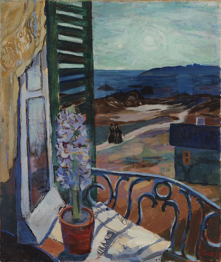 Tove Jansson (Finnish, 1914-2001) - Blue Hyacinth, 1939 - Private collection