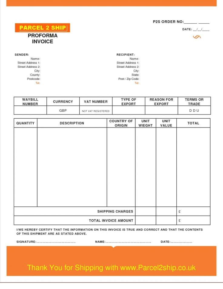267 best invoice images on Pinterest Sample resume, Job resume - sample proforma invoice