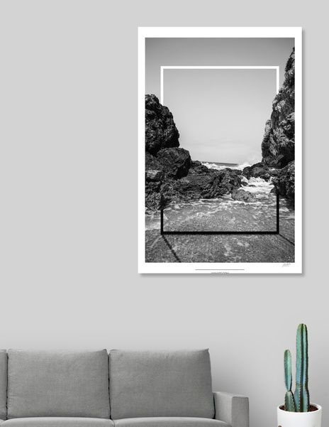 Discover «Photo Frames_7», Limited Edition Canvas Print by Siemos Yiannis - From $59 - Curioos