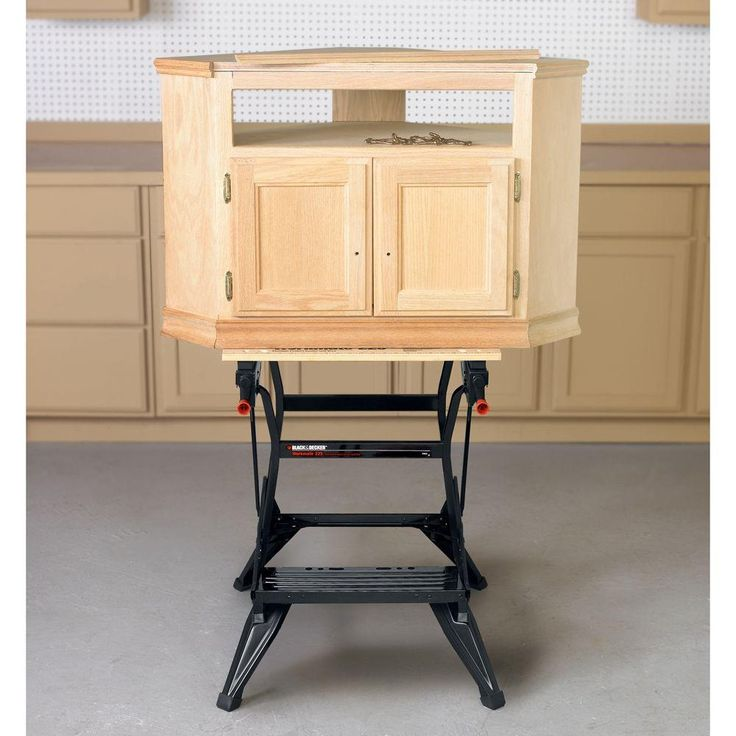 Blackdecker workmate 225 30 in folding portable