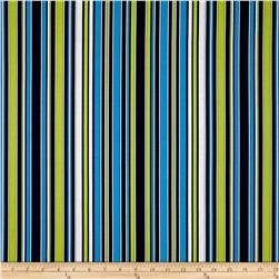 Kanvas Citron Twist Shirting Stripe Multi
