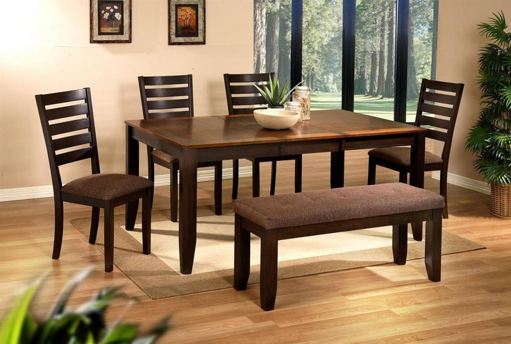 Drew 6 Piece Dining Set: Dining Rooms,  Boards, Living Spaces, Ladder Back Chairs, Sam Club, Dining Sets, Pieces Dining, Joy Dining, Dining Tables