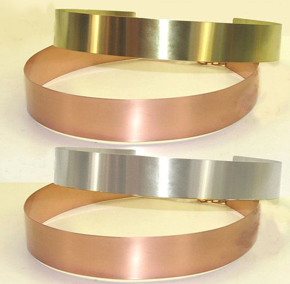 20 OFF TODAY All Metal Belt Wide Gold Silver Copper by theChainery, $39.99