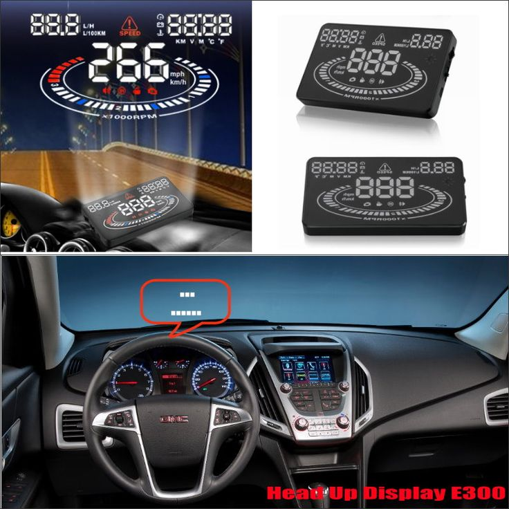 For GMC Sierra / Terrain / Yukon 2015 2016 Car Head Up Display Saft Driving Screen Projector - Refkecting Windshield