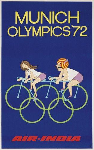 Air-India - Munich Olympics '72 -