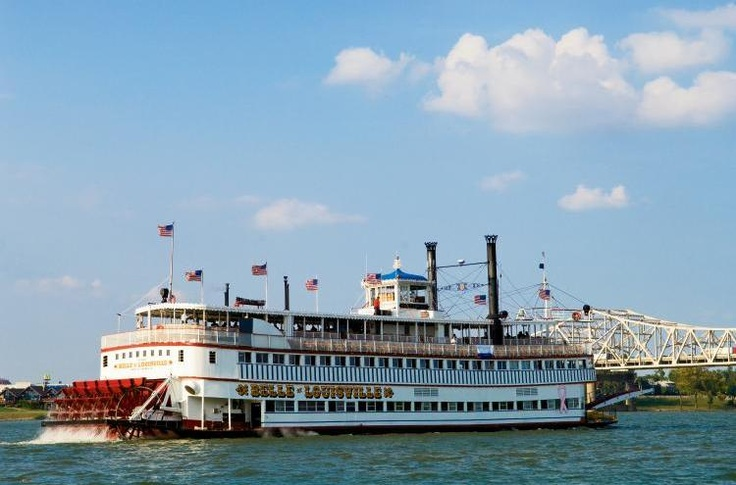 You've never seen a Southern Belle like this...  she's 98 years old and still going strong! The Belle of Louisville steamboat sails along the Ohio River in Louisville, KY.: Travels Remembered, Photo, Steamboat Sails, Louisville Steamboat
