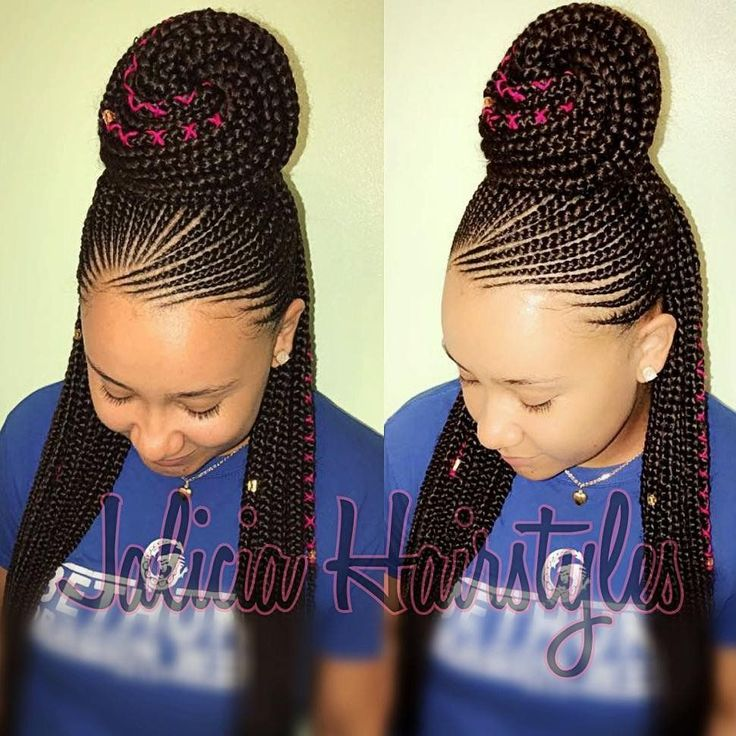 Gone are the days when cornrow hairstyles were rocked by older women and a few section of ladies but today it has become one of the most popular braided hairstyles but not only because it is easy to handle, but because it can be done in different amazing styles. From braided, to twisted, to big … #CornrowsHairstyles