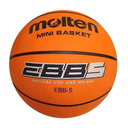 Balón Molten EBB5, talla 5 de goma de gran calidad para uso outdoor www.basketspirit.com/Molten