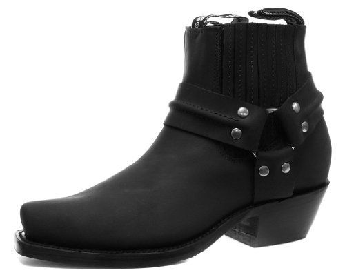 Grinders 490 Harness Lo Mens Cowboy Biker Boots UK 9 B - http://authenticboots.com/grinders-490-harness-lo-mens-cowboy-biker-boots-uk-9-b/