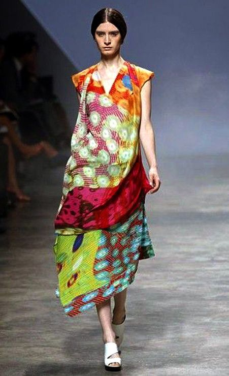 Clothing By Baking It In An Oven By Issey Miyake: By Fashion Designer Issey Miyake