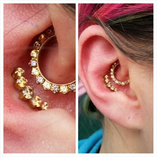 cbe9cb1ce6699 daith + conch, Industrial Strength Body Jewelry | ears | Daith piercing  jewelry, Daith piercing, Ear piercings industrial