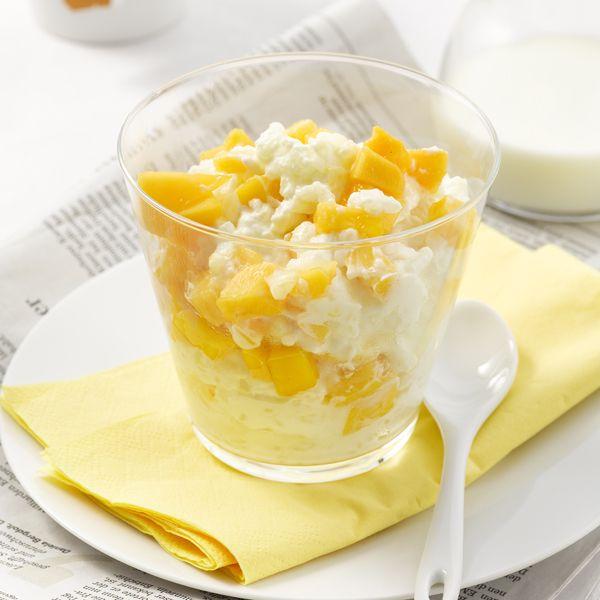 Start de dag met rijstyoghurt met mango! #PowerStart #ontbijt #WeightWatchers #WWrecept