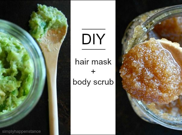 DIY Hair Masks and Physique Scrub Recipes by way of Merely Happenstance Weblog