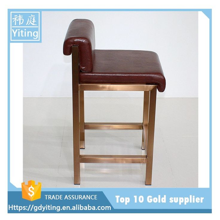 Modern PU Leather Home Used Bar Stool Chair YW 010