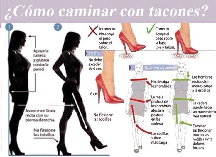 Como caminar con tacones y hacerte menos daño. | Fisioterapia Online