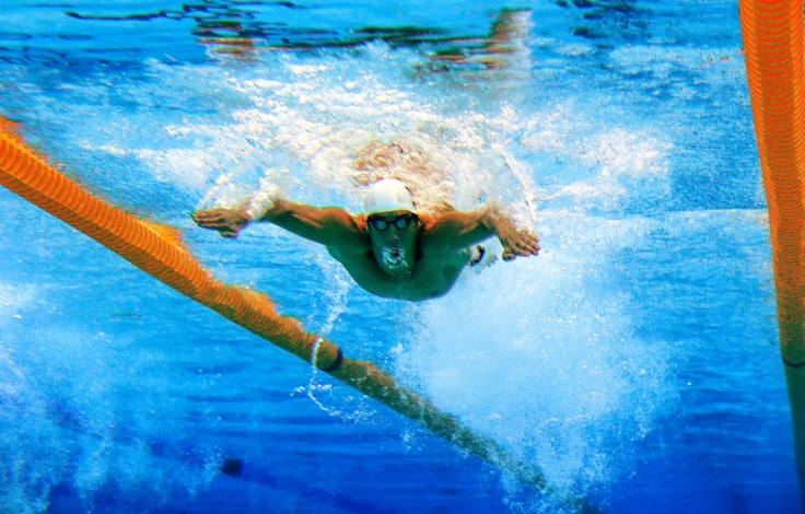 Phelps swims to victory, aug. 2nd